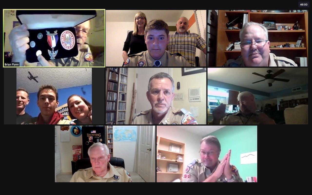 Zoom EBOR meeting