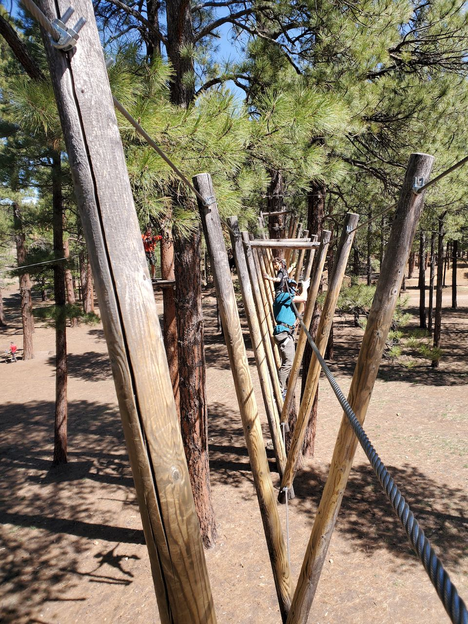 Scouts on obstacle